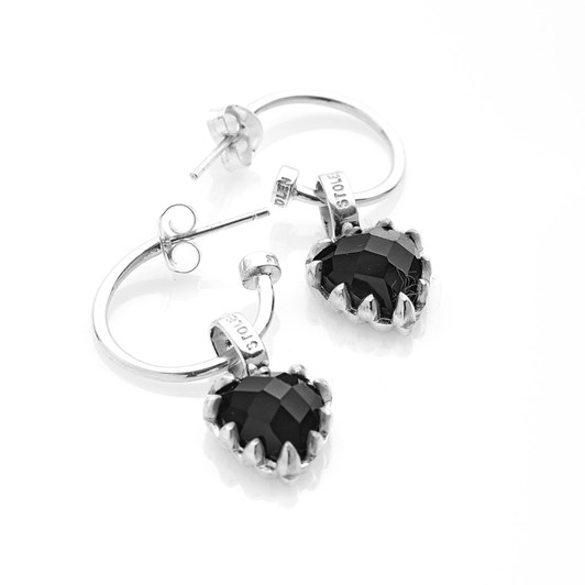 Stolen Girlfriends Club Love Anchor Earring Onyx