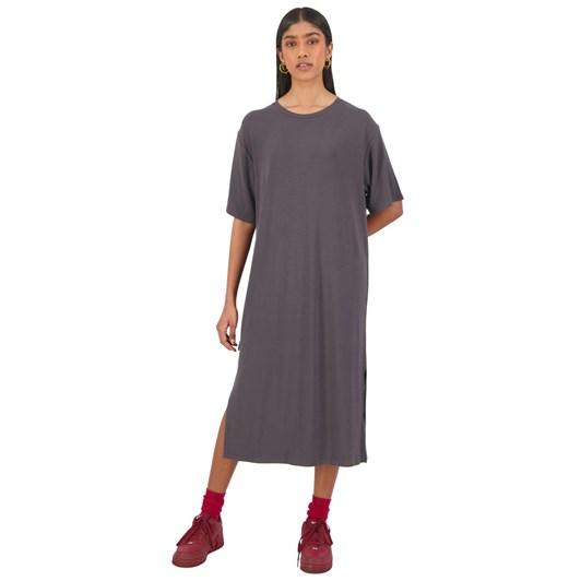 Huffer Rib Bey Dress