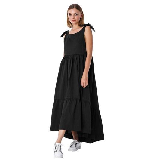 Blak Daisy Chain Dress