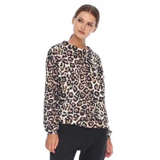 Blak Cheetah Sweater