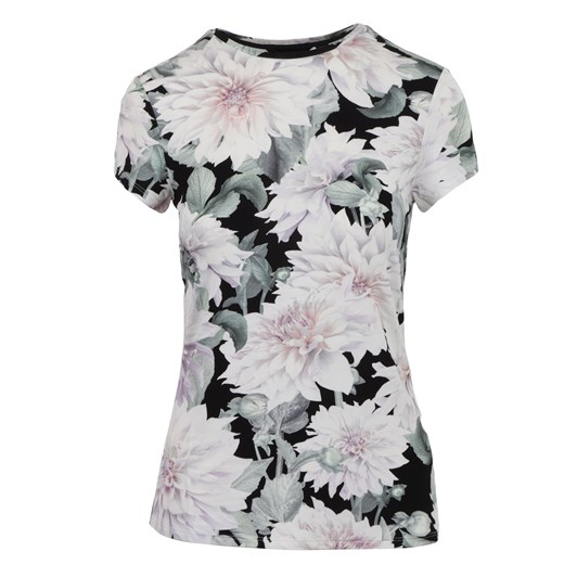 Ted Baker Hilmaa Clove Fitted Tee Shirt