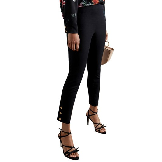 Ted Baker Liliith Trouser With Popper Details