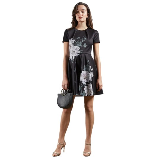 Ted Baker Luicy Clove Printed Skater Dress