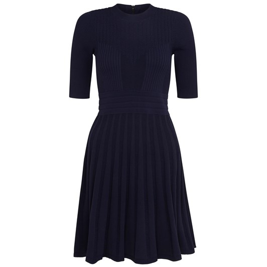 Ted Baker Olivinn High Neck Knitted Skater Dress