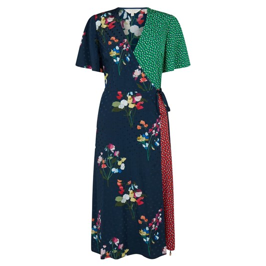 Ted Baker Talissa Pepermint Mash Up Wrap Dress