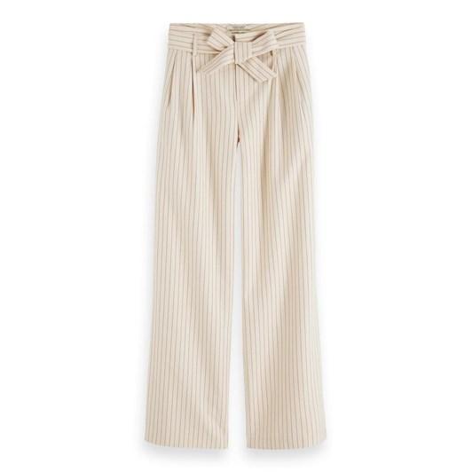 Maison Tailored Pinstripe Pant