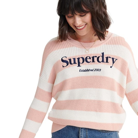 Superdry Whittaker Logo Knit