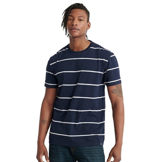 Superdry City Neon Box Fit Stripe Tee