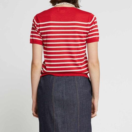 Karen Walker Maritime Knit Tee