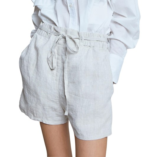 Karen Walker Fair Trade Linen Shorts