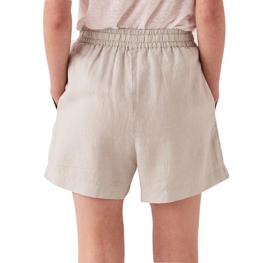 Assembly Label Ease Linen Short - Green Mist