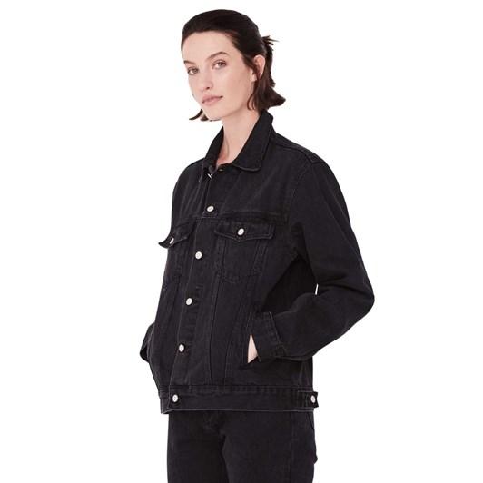 Assembly Label Tome Denim Jacket - Washed Black