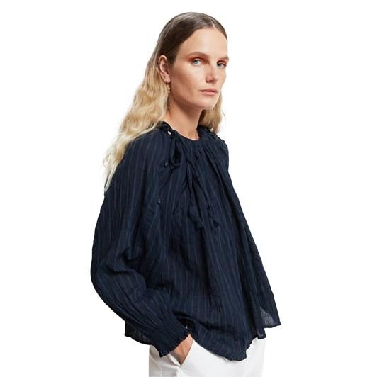 Karen Walker Organic Cotton Undertow Top