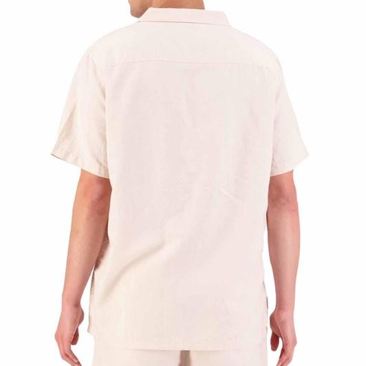 Huffer Lin-In S/S Cuban Shirt