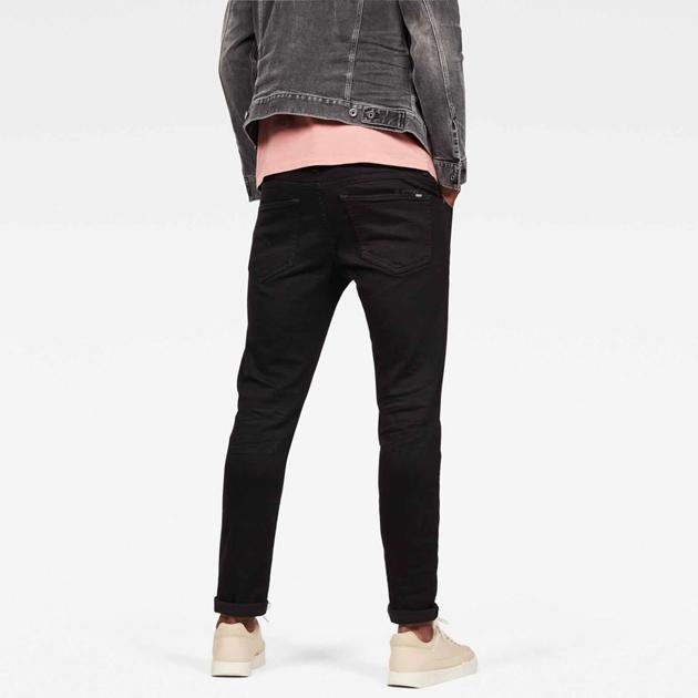G-Star 3301 Slim Jean - pitch black