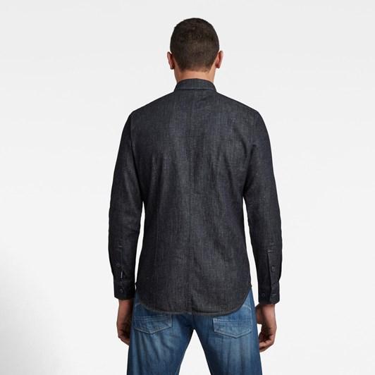 G-Star Zip Pocket Slim Shirt L\S