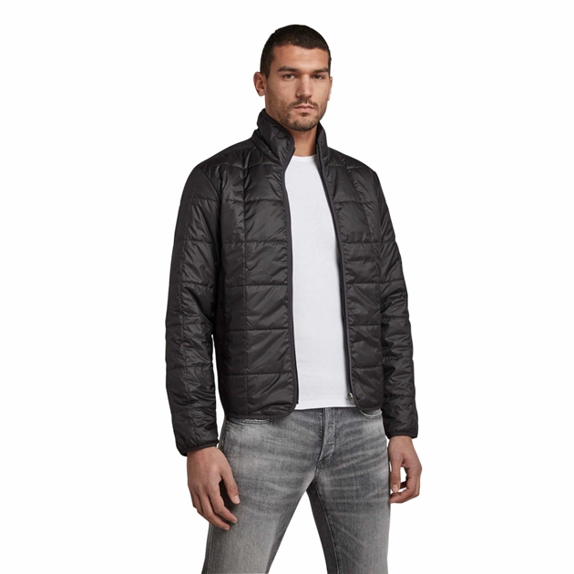 G-Star Light Weight Quilted Jacket - dk black