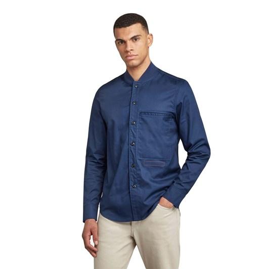 G-Star Bomber Collar Regular Shirt L\S