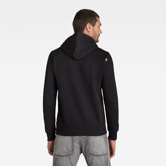 G-Star G-Star Hooded Sweatshirt L\S