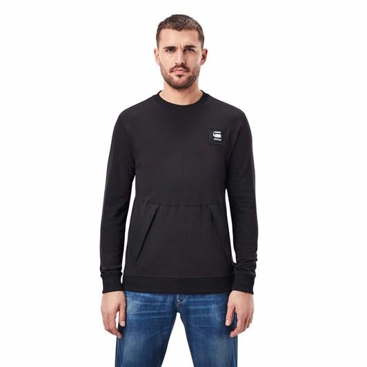 G-Star Box Logo Pocket Sweater R Tee L\S
