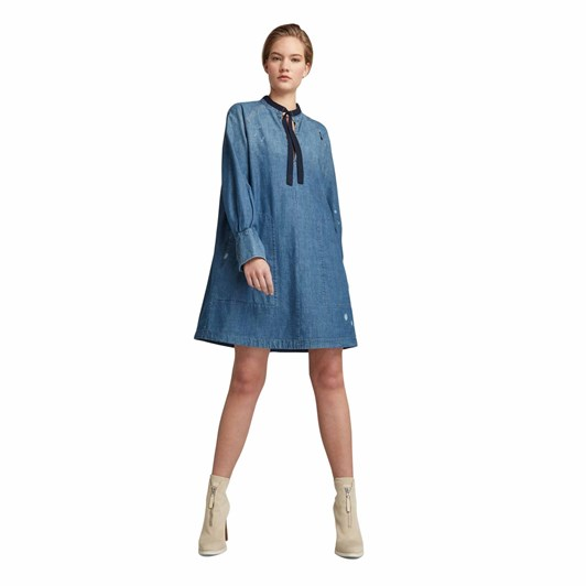 G-Star V-Neck Tunic Dress L\S