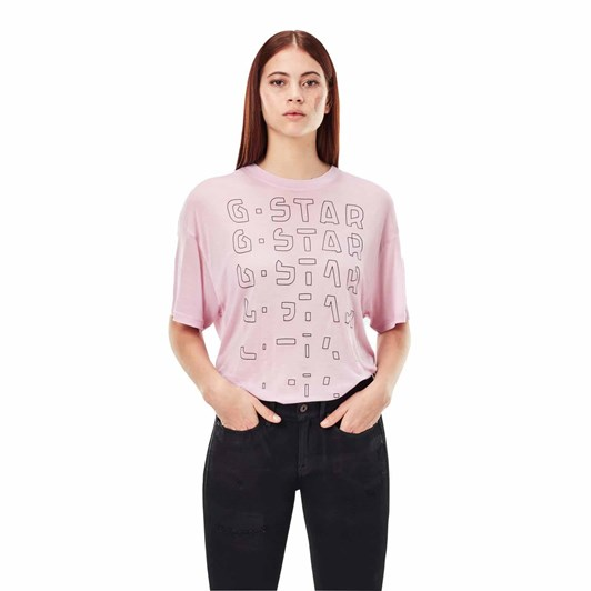 G-Star Sheer Faded Graphic Tee