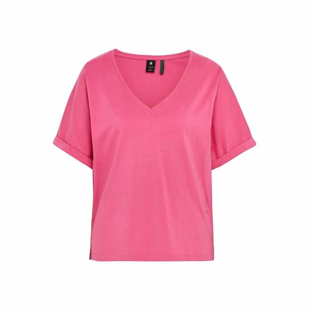 G-Star Joosa V-Neck Tee - rebel pink