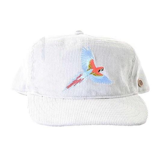 fallenbrokenstreet Corduroy Cap - White Parrot