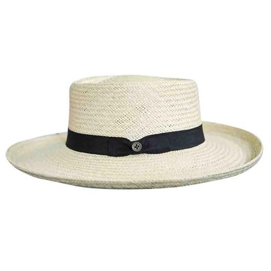 fallenbrokenstreet The Light Hat - Straw Panama Style