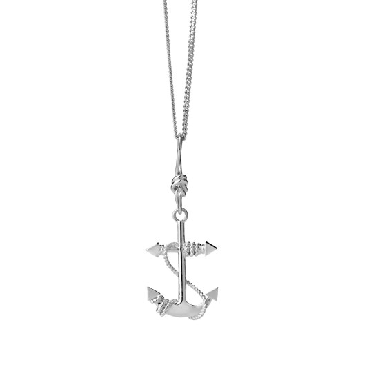 Karen Walker Jewellery Anchor Necklace