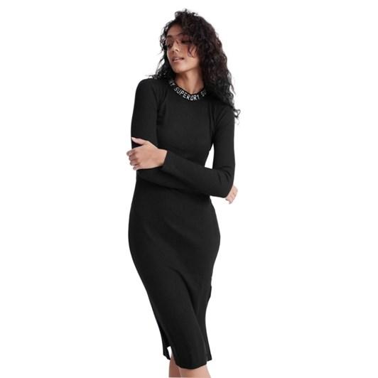 Superdry Jacquard Bodycon L/S Mini Dress