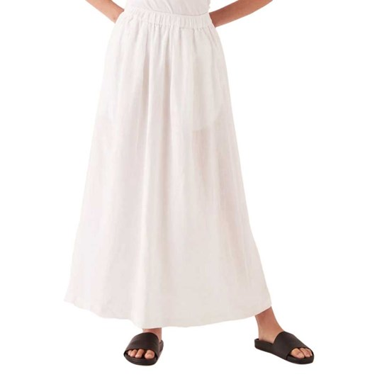 Assembly Label Noma Linen Skirt - White