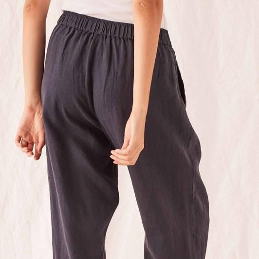 Assembly Label Noma Linen Pant - True Navy