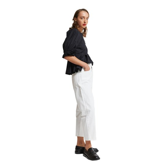 Karen Walker Organic Cotton Melody Top