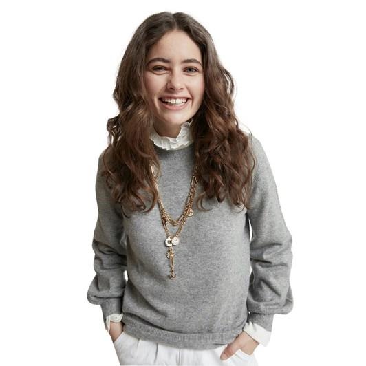 Karen Walker Pattie Bell Sleeve Sweater