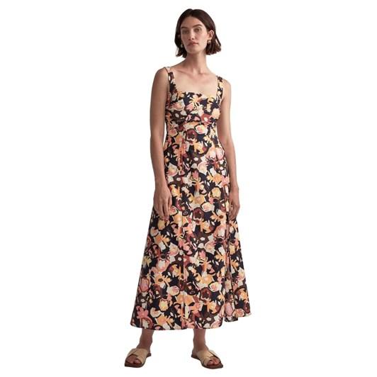 Camilla and Marc Delfino Split Skirt Dress