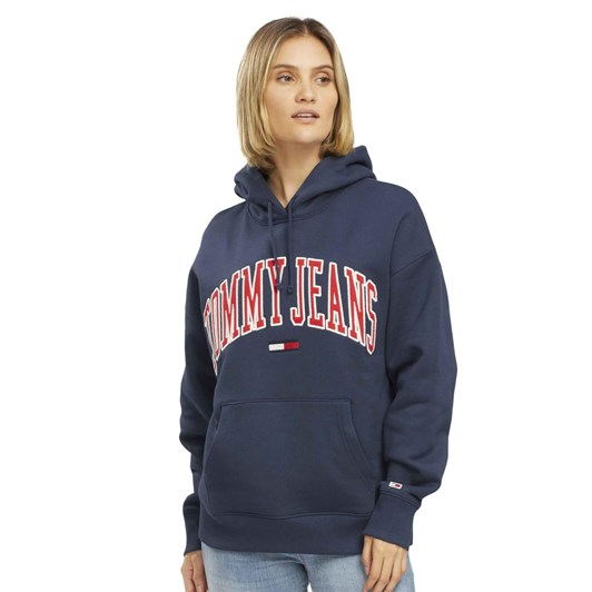 Tommy Jeans Collegiate Logo Hoodie