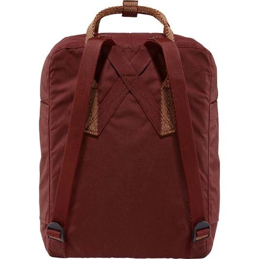 Fjallraven Kånken Ox Red-Goose Eye Backpack