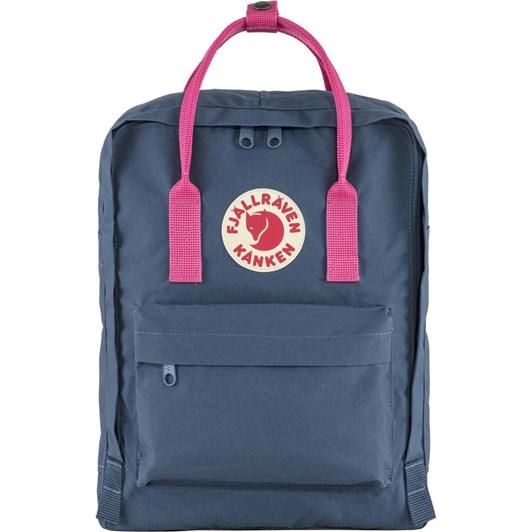 Fjallraven Kånken Royal Blue-Flamingo Pink Backpack