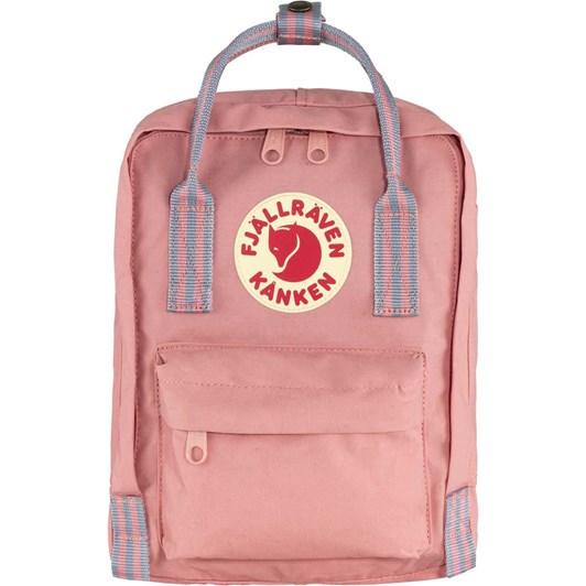 Fjallraven Kånken Pink-Long Stripes Backpack Mini