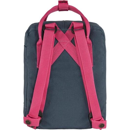 Fjallraven Kånken Royal Blue-Flamingo Pink Backpack Mini
