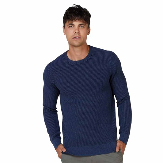 Superdry Academy Dyed Texture Crew