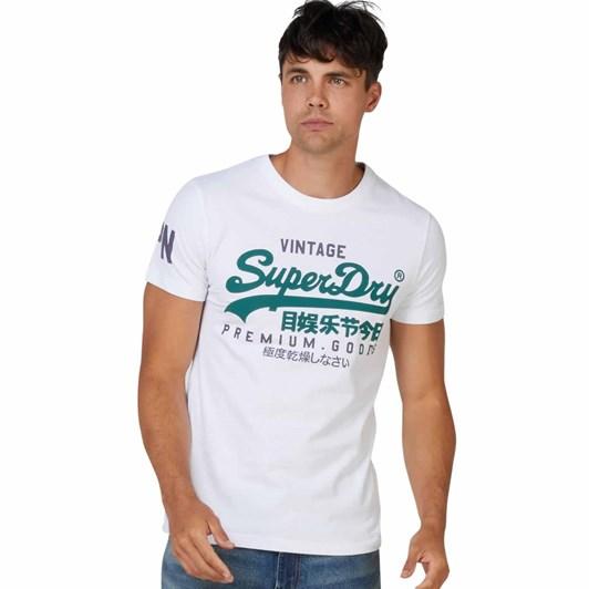 Superdry Vintage Label Ns Tee