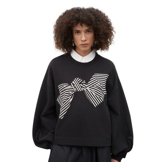 Kowtow Bow Print Sweater