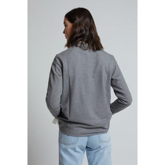 Karen Walker Embroidered Runaway Girl Sweatshirt