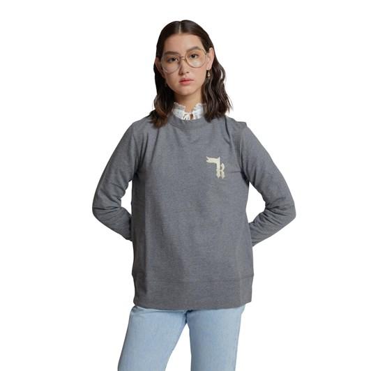 Karen Walker Embroidered K Monogram Sweatshirt