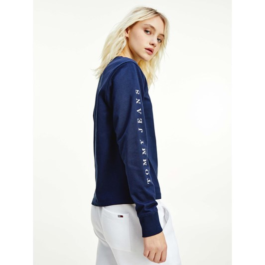 Tommy Jeans Tommy Box Flag Longsleeve