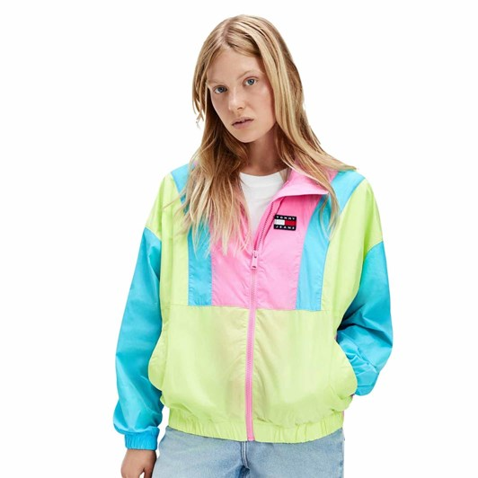 Tommy Jeans Colorblock Zip Through
