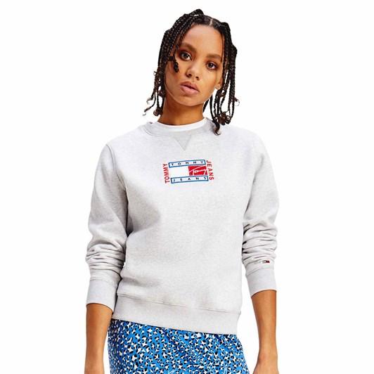 Tommy Jeans Boxy Timeless Flag Sweatshirt