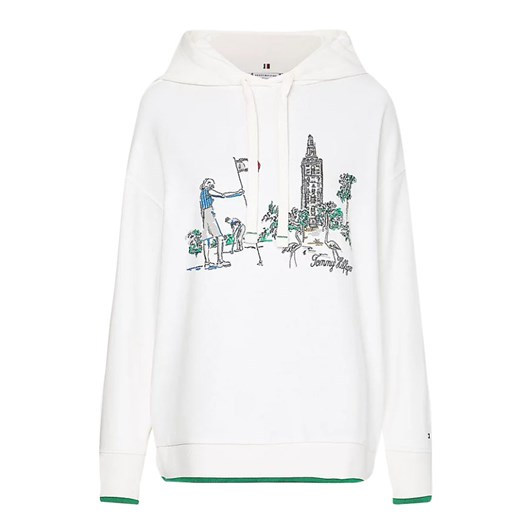 Tommy Hilfiger Oversized Box Tower Hoodie L/S